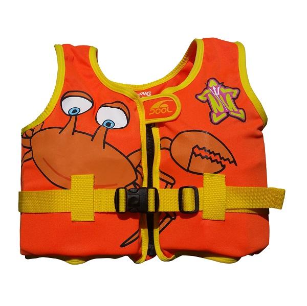 Kinderzwemvest Neptune Nauticals oranje