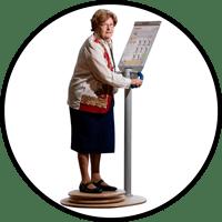 Stabilitätsübungen und Balanceübungen für Senioren und Demenzkranke