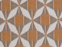Meubelstof Mosaic J195 Mandarine