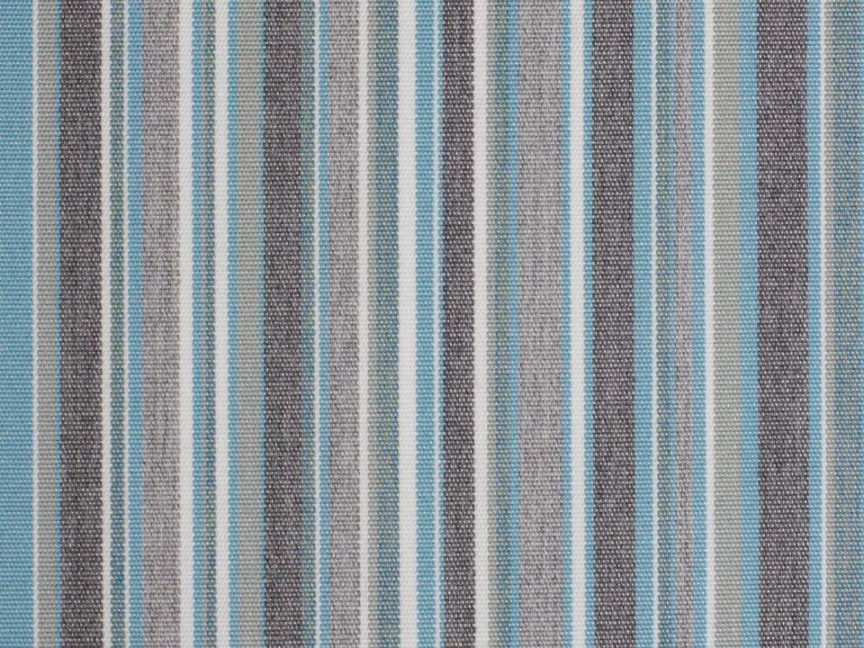 Meubelstof Stripes 3776 Porto Blue Chiné