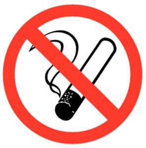 """Pikt-O-Norm Pikt-O-Norm pictogram """"verboden te roken"""""""