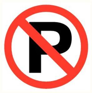"Pictogramme Pikt-O-Norm ""Verboden te parkeren"""