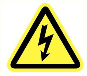 Pikt-O-Norm Electrische spanning pictogram*ACTIE*