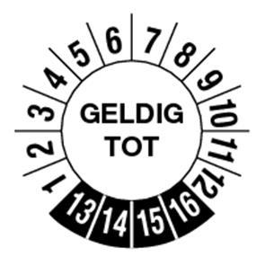 Pictogramme Pikt-O-Norm Geldig tot 6 jaar