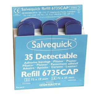Cederroth Salvequick detecteerbare pleisters