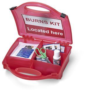 Trousse de secours B-Click For Burns