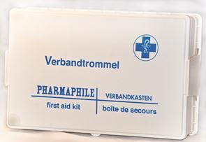 Verbandtrommel B in KS3 met wandhouder (8869)*