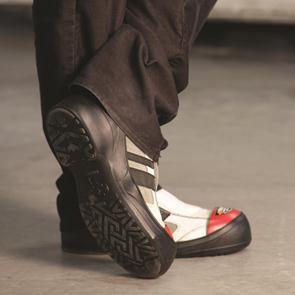 Sur-chaussure pour visiteurs Impacto Visitor