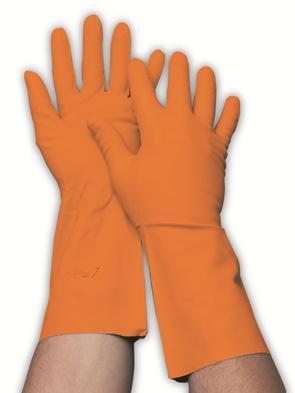 Latex huishoudwerkhandschoen