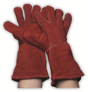 Red lashandschoen