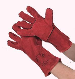 Red Kevlar lashandschoen