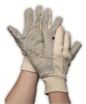 Polka dot handschoen