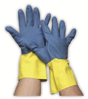 Neopreen/latex werkhandschoen