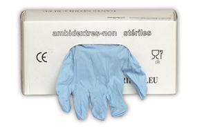 Nitril wegwerphandschoen (prijs per 100 stuks)