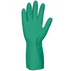Groene Nitril werkhandschoen