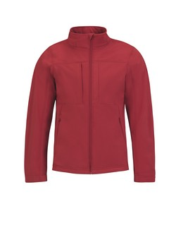 B&C Hooded Men softshell jas