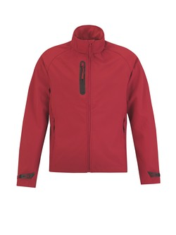 B&C X-lite Men softshell jas