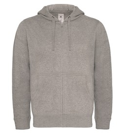 B&C Hooded Full Zip Men sweater