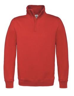 B&C ID.004 Zip Neck sweater