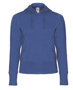 B&C Hooded Full Zip Women sweater
