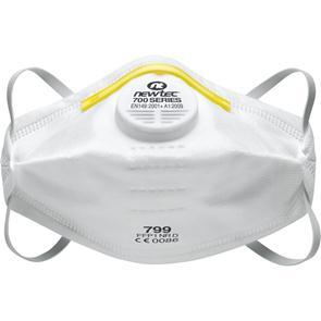 Masque pliable anti-poussière avec soupape Newtec P1