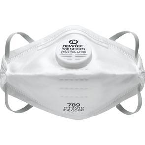 Masque pliable anti-poussière avec soupape Newtec P2