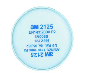 3M 2125 stoffilter P2