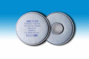 3M 2128 stoffilter P2 R (prijs voor 2 stuks)