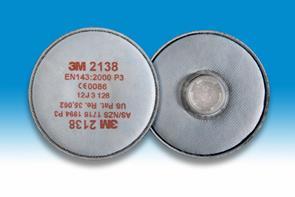3M 2138P3 stoffilter P3 (prijs voor 2 stuks)