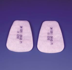 3M 5911 stoffilter P1 R (prijs voor 2 stuks)
