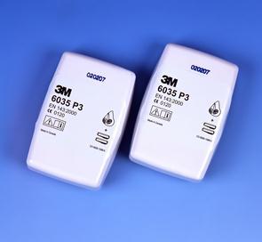 3M 6035 P3 R filter (prijs voor 2 stuks)