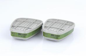 Filtres anti-gaz 3M 6054 K1