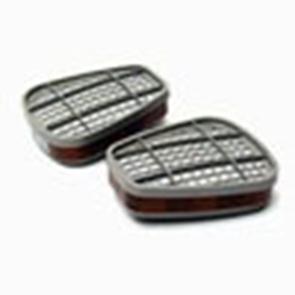 3M 6055 A2 filter (prijs voor 2 stuks)