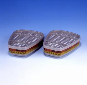 3M 6075 A1/Formaldehyde filter (prijs voor 2 stuks)