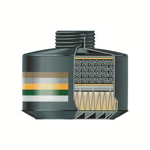Milla Eurfilter 7050 ABEK2P3 R filter