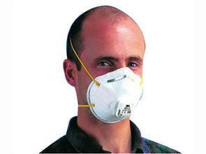3M 8812 Classic stofmasker P1 met ventiel