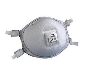 3M 9925 specifiek stofmasker FFP2 met ventiel