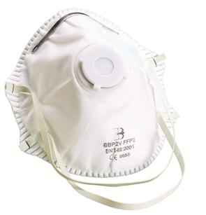 B-Brand P2 stofmasker met ventiel