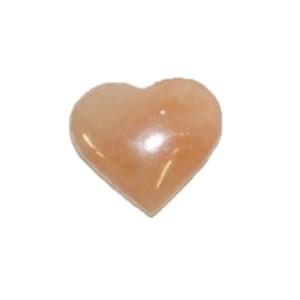 Seleniet Oranje Hart 7x5cm