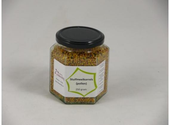Pollen (stuifmeelkorrels) 250 gram
