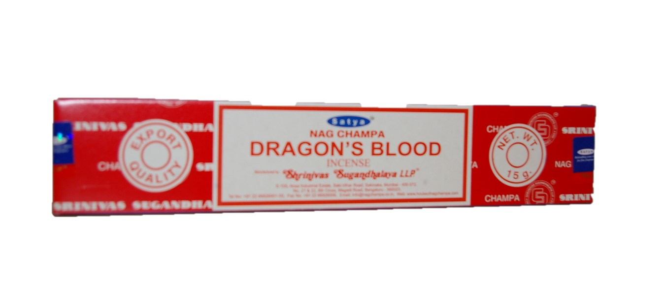 Dragons blood wierook Satya