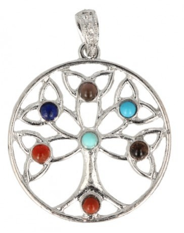 Chakra hanger Tree of life 40mm