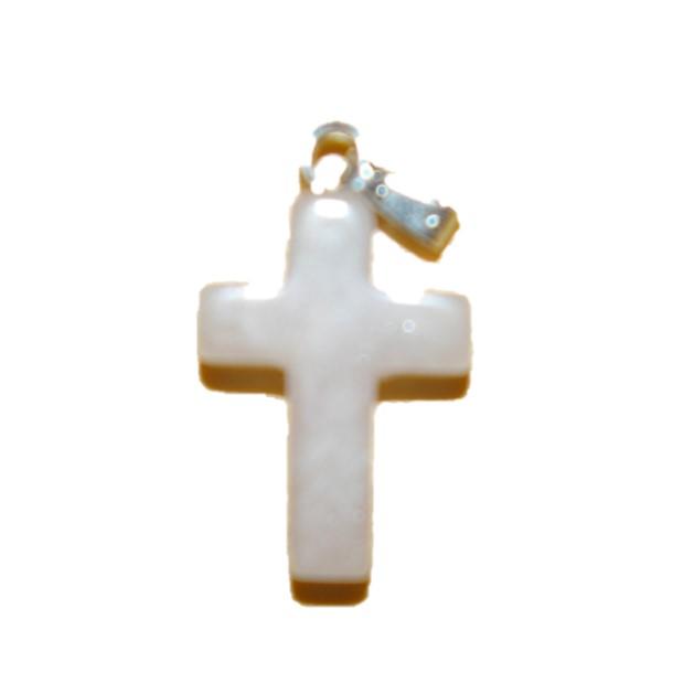 Rozekwarts hanger kruis