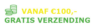 vanaf 100 euro gratis verzonden