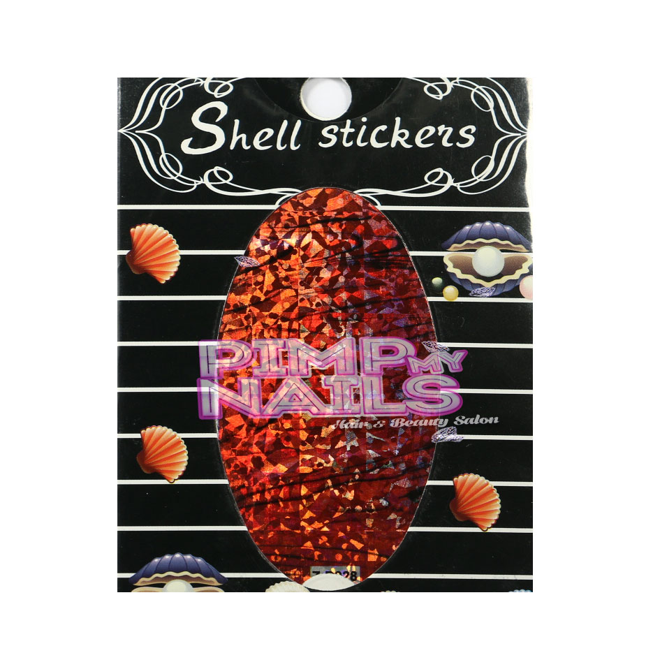 001 Shell Stickers
