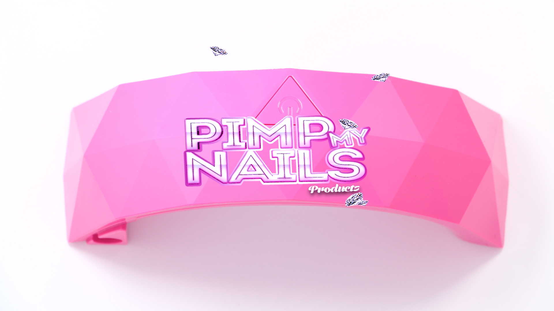 CCFL Led + UV lamp  Junior pink 9w usb PimpmyNails