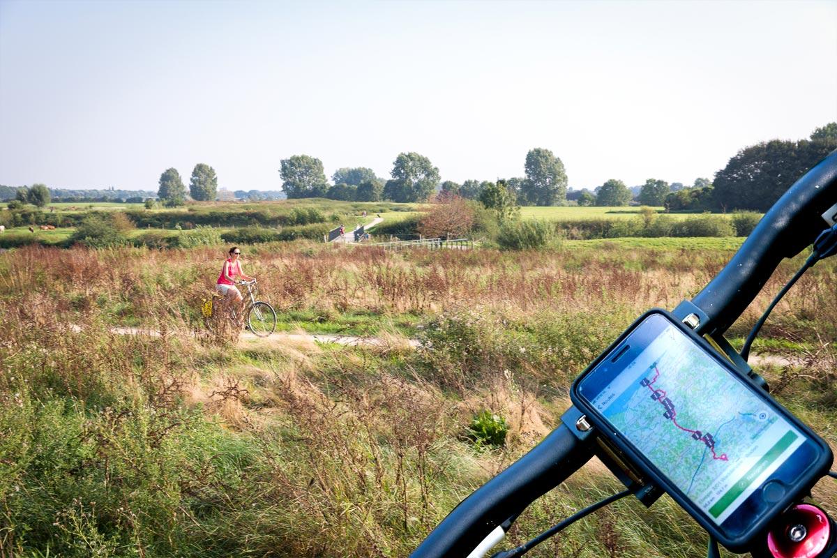 Shortcode Fietserpad traject 2 Achterhoek - Waddenzee