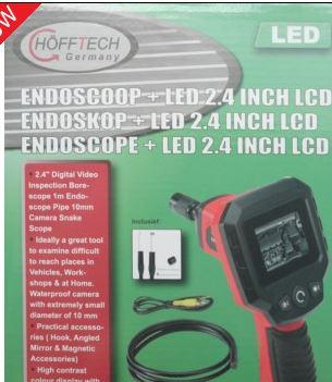Endoscoop 2,4 INC LED