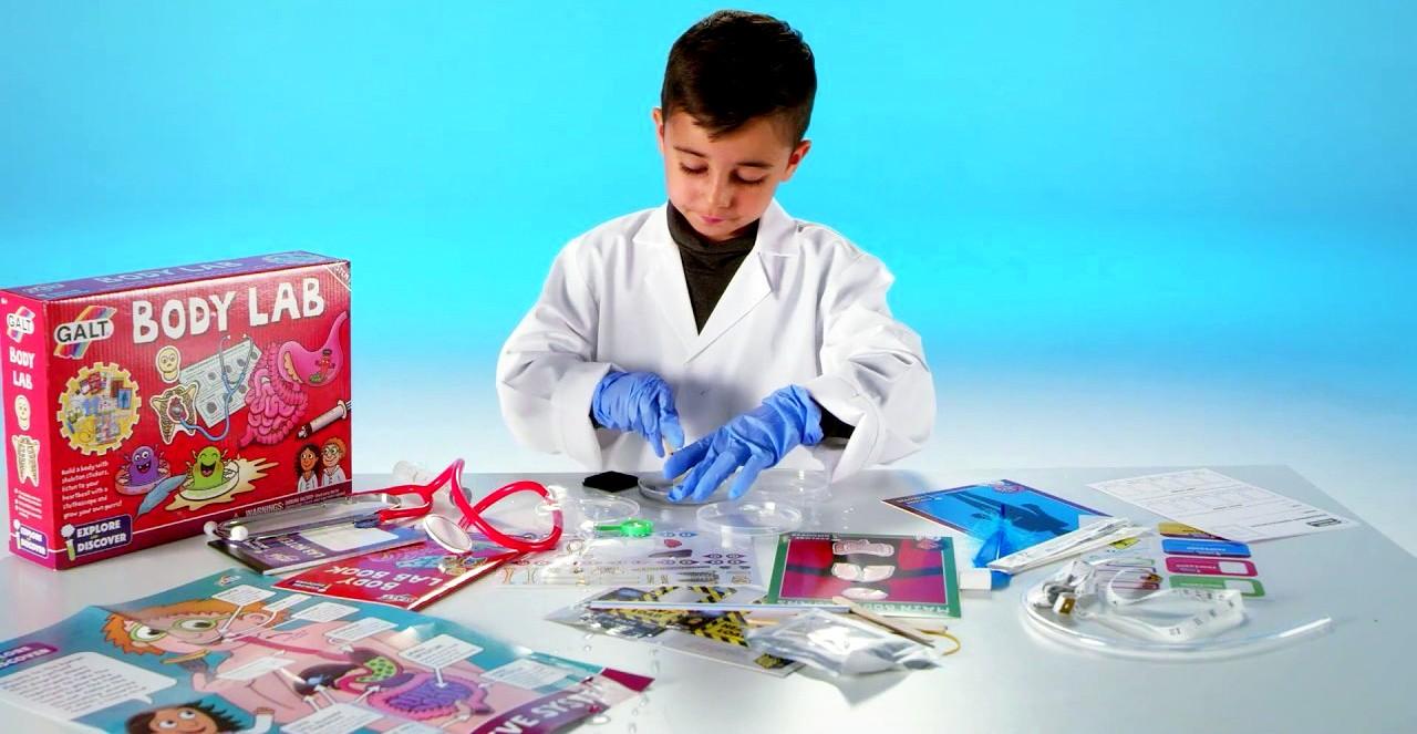 Galt Body Lab ontdekdoos experimenteren