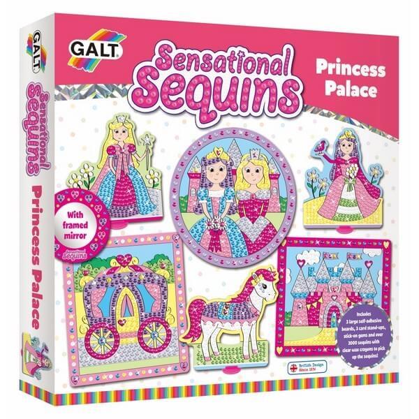 Prachtige Pailletten Prinsessenpaleis